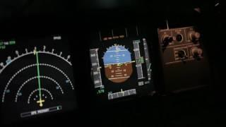 Штопор на А320 ввод и вывод на руках (моделирование)