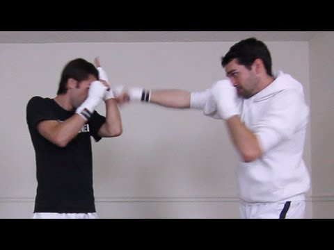 How to Block Jabs & Straight Punches (With No Gloves) | Kwonkicker