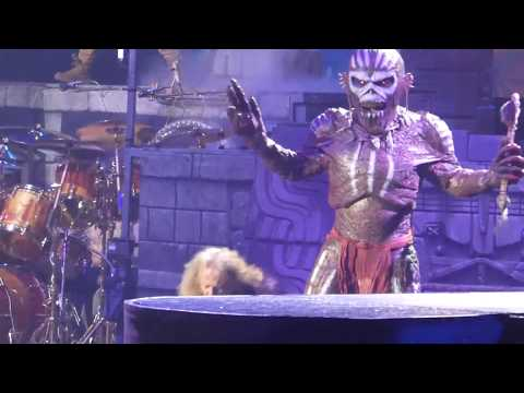 """The Book of Souls & Eddie Attacks"" Iron Maiden@Prudential Center Newark, NJ 6/7/17"