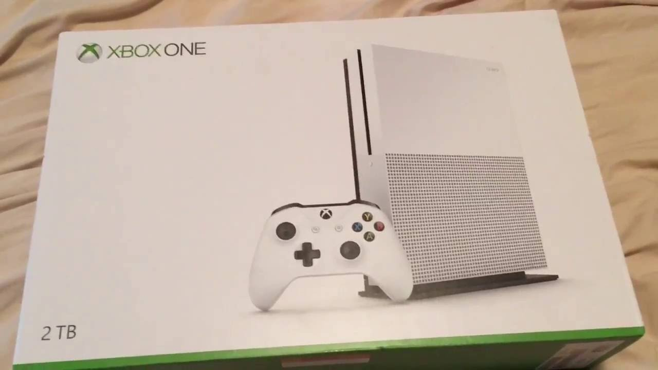 Upgraded Equipment Xbox One S Unboxed Gaming Room Setup YouTube