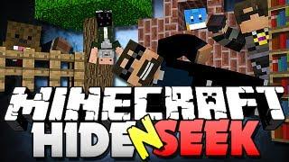 Minecraft Hide and Seek 1 - POOL GLITCH!! (SkyDoesMinecraft, Jerome, Husky and ManPig)