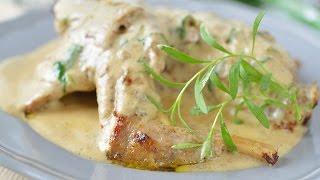 Тушеный кролик в сметане / Рецепт сочного и вкусного кролика!