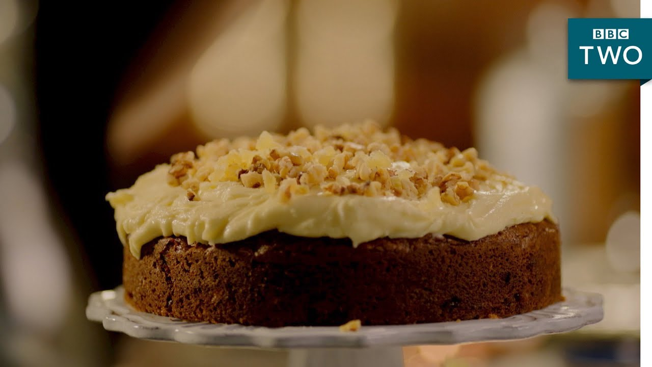 Ginger Walnut Carrot Cake Nigella At My Table Episode 3 Bbc