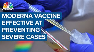 Moderna CEO: Most exciting vaccine data is protection from severe Covid-19