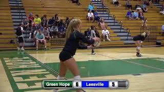 Varsity Green Hope vs Leesville High School Volleyball