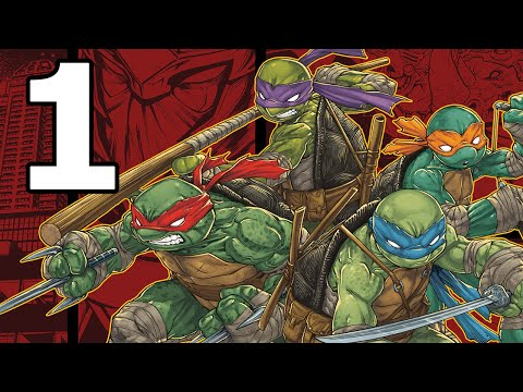 TMNT: Mutants in Manhattan Walkthrough Part 1 - No Commentary Playthrough (PS4)