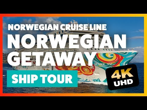 Norwegian Getaway TOUR and REVIEW 4K