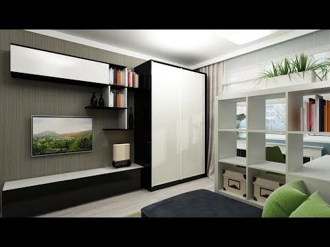 Гостиная со Шкафом в Современном Стиле - 2018 / Living Room With Cupboard In Modern Style