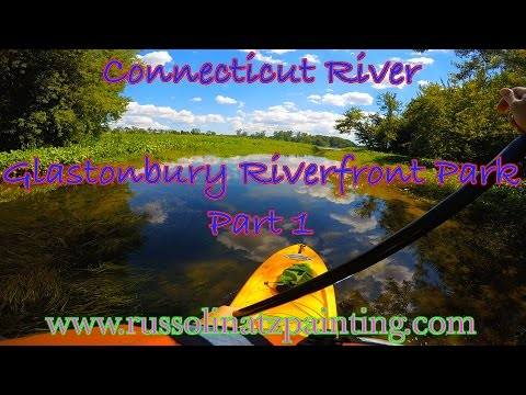 Paddleboarding Connecticut River Time-lapse - Glastonbury Riverfront