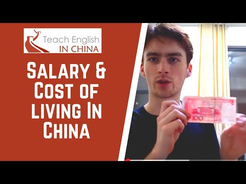 Teach English in China: Salary & Cost of Living