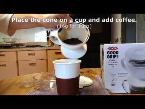 OXO Good Grips Pour-Over Coffee Maker