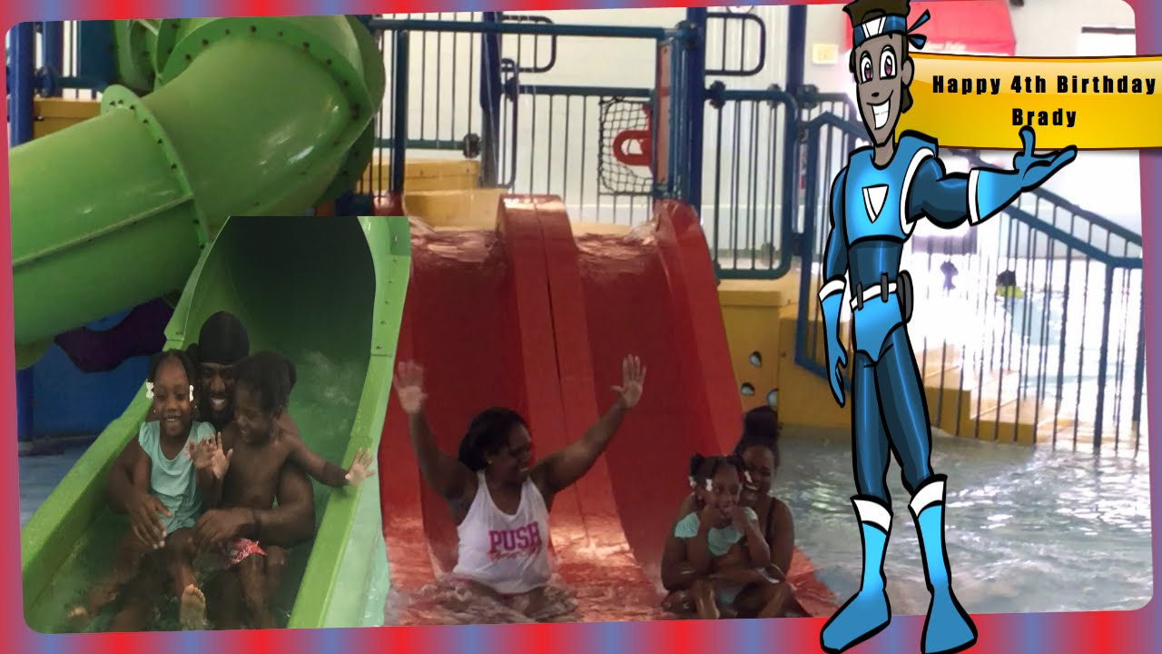 Indoor Water Park For Kids-Birthday Party fun