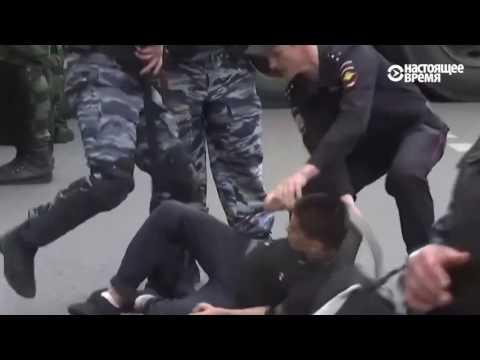 В Москве задержали подростка на антикоррупционном митинге