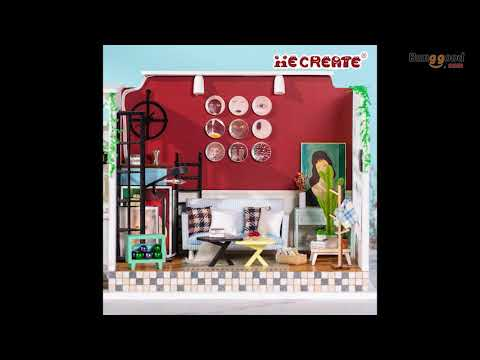 iiecreate H-003 The Girl Of The Old Time Lane DIY Dollhouse