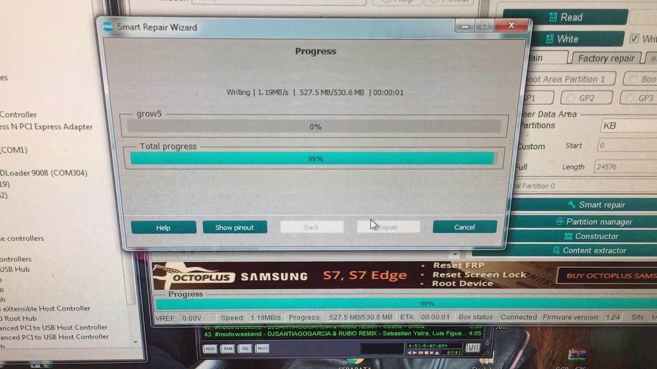 Reparación Boot LG G6 H870 exclusivo aquí by medusa pro