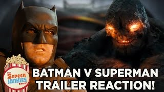 Batman v Superman Trailer 2 Reactions!