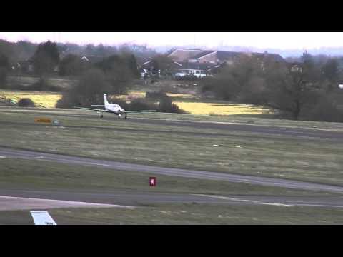Piper PA-46-310P Malibu N394SE -Take off - Gloucestershire airport