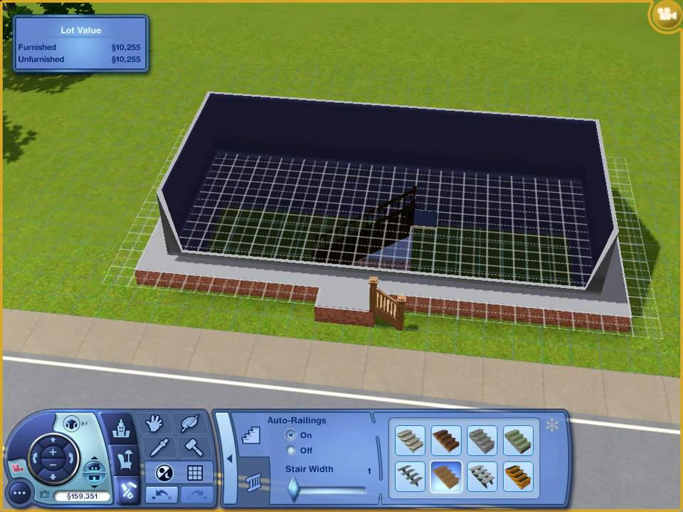 the sims 3 how to build a basement youtube