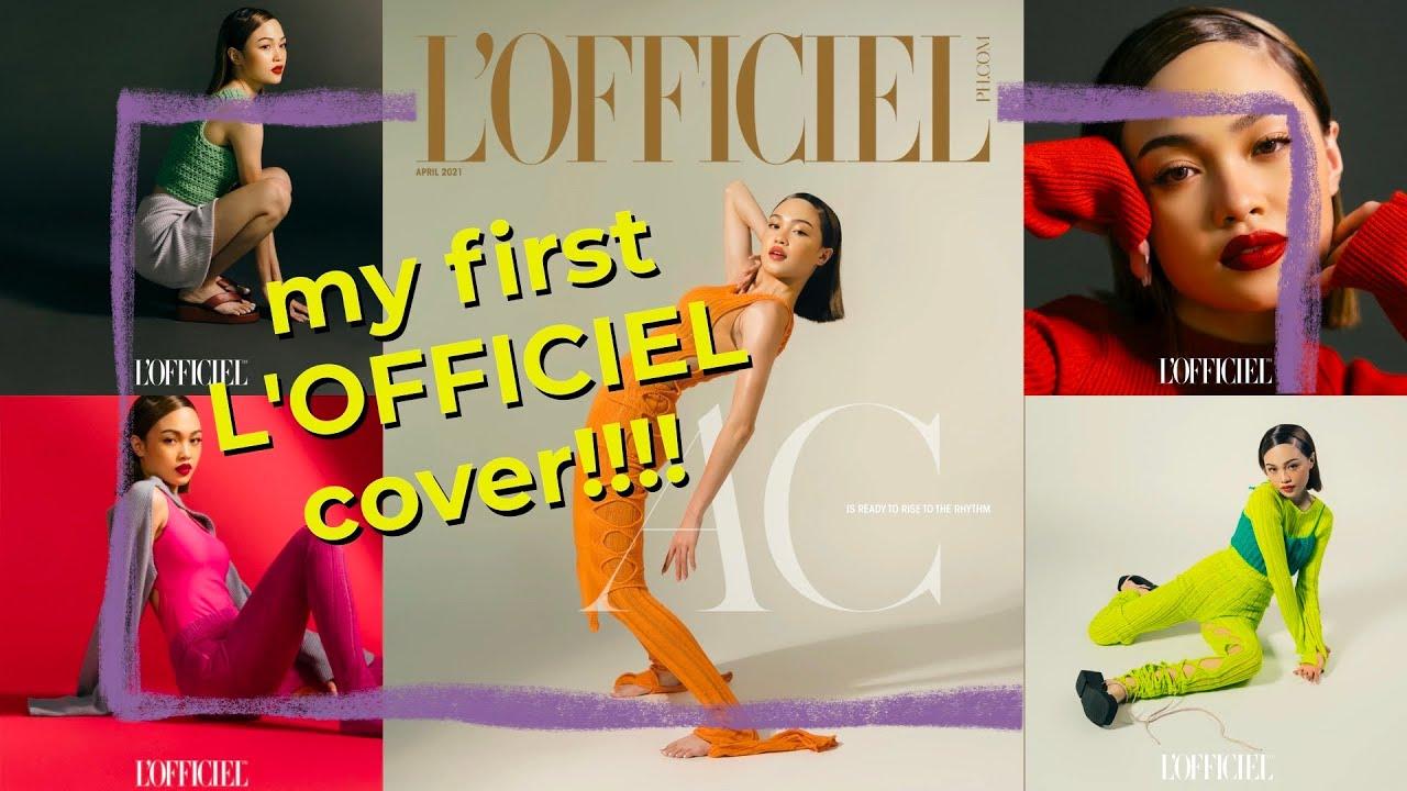 My first L'Officiel Cover // Andree Bonifacio