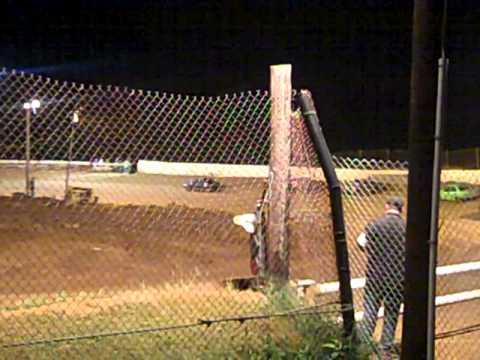 Mini Stock Feature race 9/8/12 @ western kentucky speedway