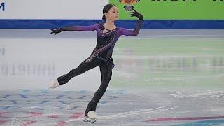 Аделия Петросян - КП - Первенство 2021   Adelia Petrosian - SP - Junior Nationals 2021