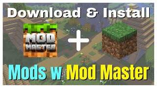 How to Download and Install Mods with Mod Master For MCPE screenshot 3