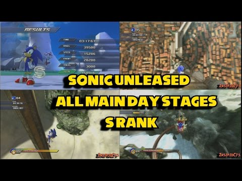 Sonic Unleashed: All Main Day Stages/Acts S-Rank
