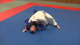 BJJ - Knee slice guard pass (Kill the knee shield)