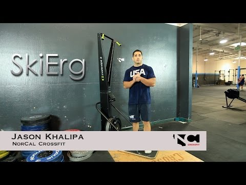 SkiErg demo with Jason Khalipa