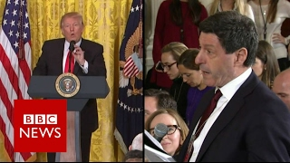 Trump to BBC News: Here's another beauty - BBC News