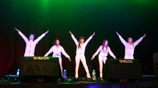140824 Crayon Pop 1st Mini Live in Taiwan(5) -Lonely Christmas