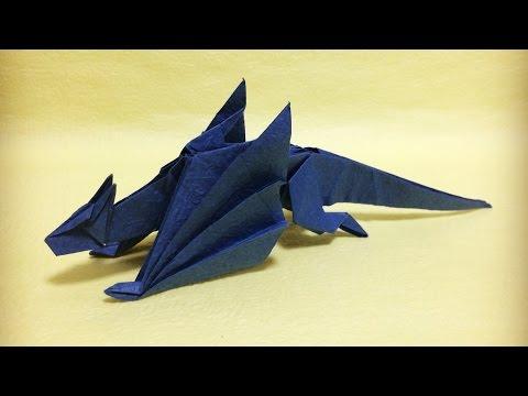 【モンハン折り紙】ナルガクルガ【さくB】 Origami Nargacuga