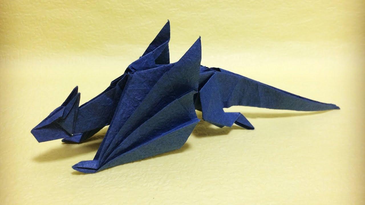 Fiery Dragon (Design by Kade Chan) | OrigamiAncy | 720x1280