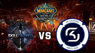 [FR] Blizzcon 2015 - WoW Grand Final - SK Gaming vs Skill Capped