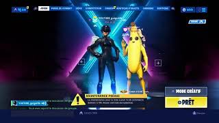 LIVE FORTNITE: (PS4) 1 SUBSCRIPTION - 1 DAY OF VACANCE IN MORE (hMR) GUIGUI36YTB CREATOR CODE