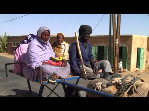 Solar powered wells in Mauritania