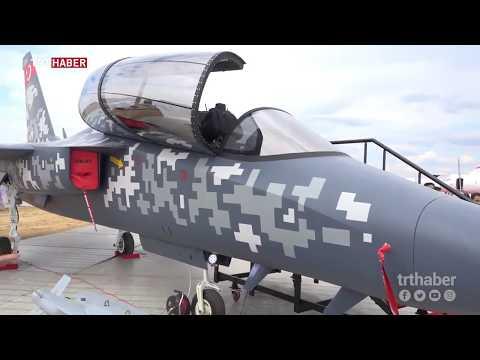 Türkiye'nin Milli Savaş Uçağı Hürjet Londra'da sergilendi