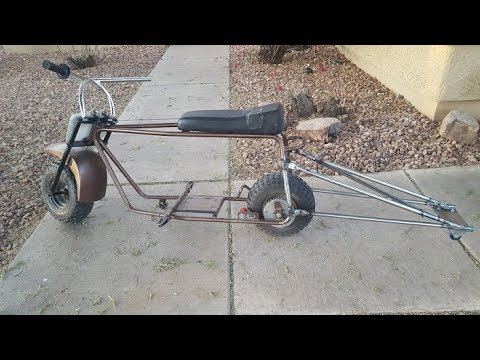Mini Bike Wheelie Bars