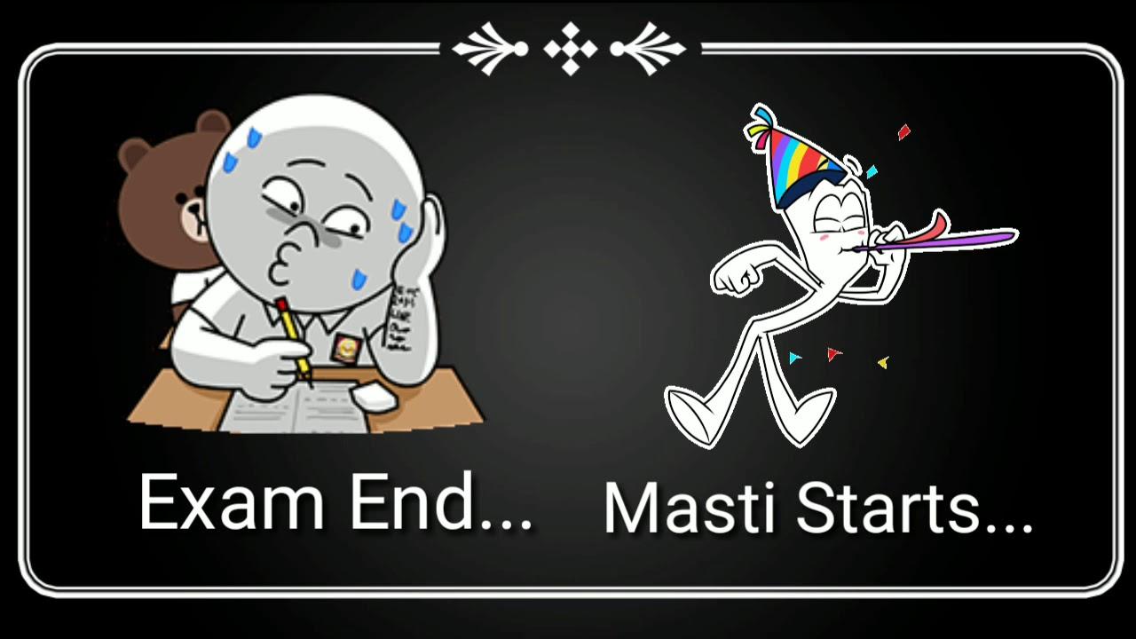Exam End Exam Finished Whatsapp Status Video Ll Subscribe Choice Whatsapp Status