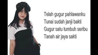 Gugur Bunga cover by Hanin dhiya (Lyrics)