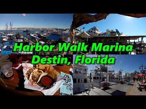 Harbor Walk Marina, Destin Florida