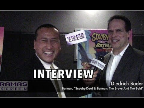 My 'SCOOBY-DOO! & BATMAN: THE BRAVE AND THE BOLD' Interview With Diedrich Bader