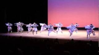 都城駐屯地創立記念行事前日祭で本部管理中隊が披露した『やっこ踊り』です。 『やっこ踊り』は、地元(高城町)の伝統芸能です。
