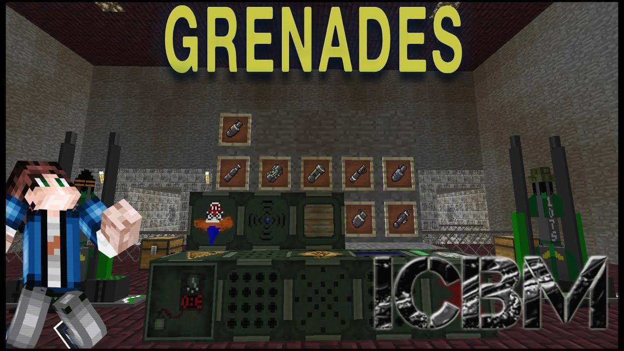 ICBM Classic 1 12 Showcase: Tier 1 Explosives & Grenades