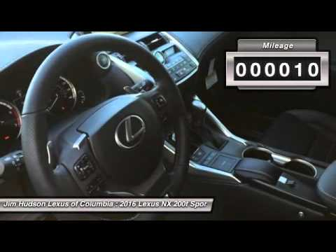 Lexus Columbia Sc >> 2016 Lexus Nx 200t Columbia Sc 24600 Youtube