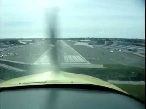 No Flap Soft Feild Landing in a Grumman AA1