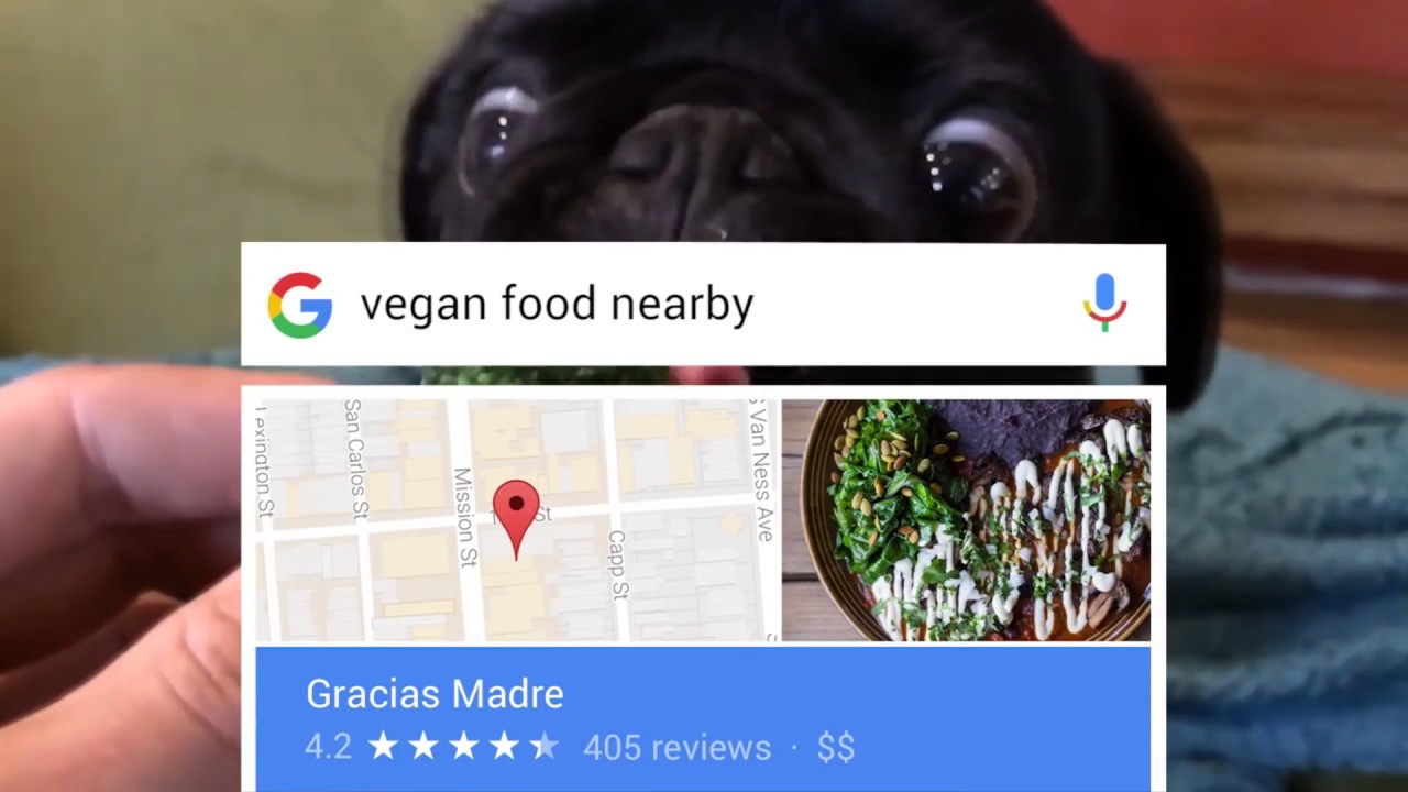Food Nearby Google Vegan Food Nearby Ad But It Gets Louder With Every Aaaaaaaa