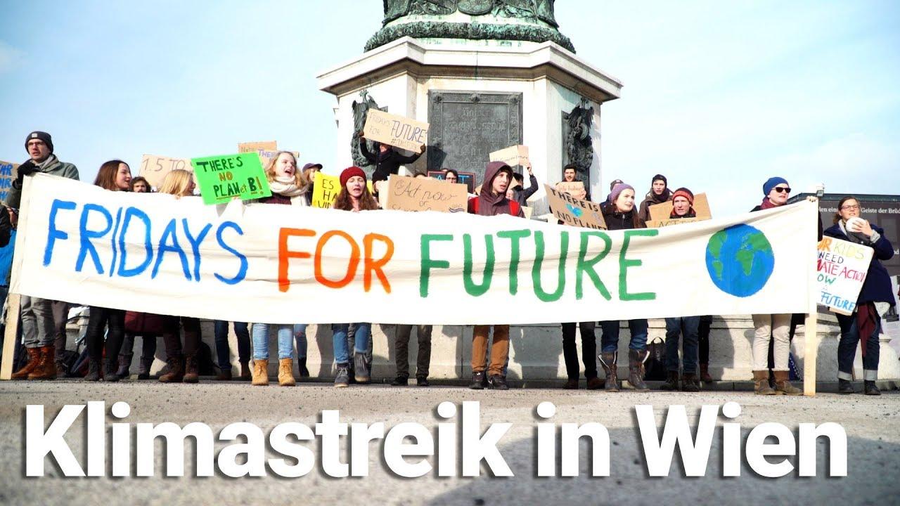 Fridays For Future Photo: Fridays For Future: Streik Für Das Klima In Wien