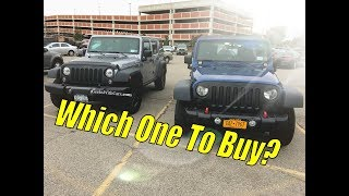 Buying a 07 -11 Jeep Wrangler Unlimited?  | Jeep Wrangler Unlimited Buyers Guide