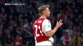Frenkie de Jong vs Vitesse (Home) 23/04/2019 | HD